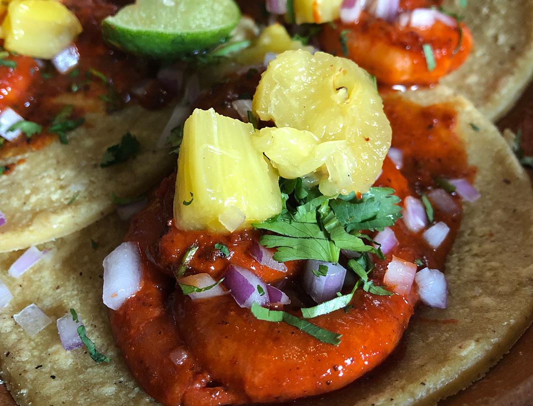 tacos de camarón mata comedor restaurante